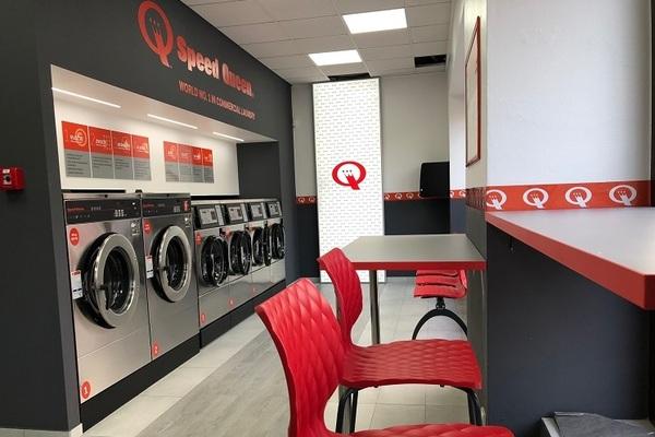 Nová prádelna Speed Queen v Prostějově